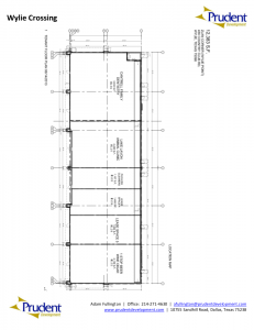 Wylie Crossing retail floor plan